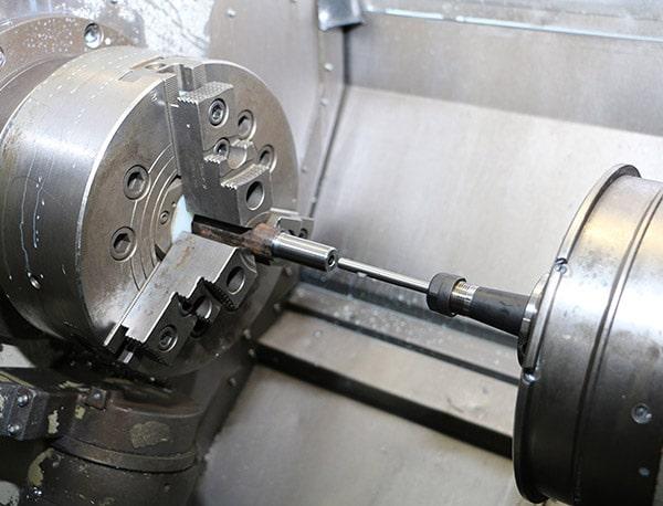 Burraway Deburing Tool by Cogsdill in lathe
