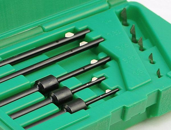 Burrway Kit Deburring Tool box by Cogsdill