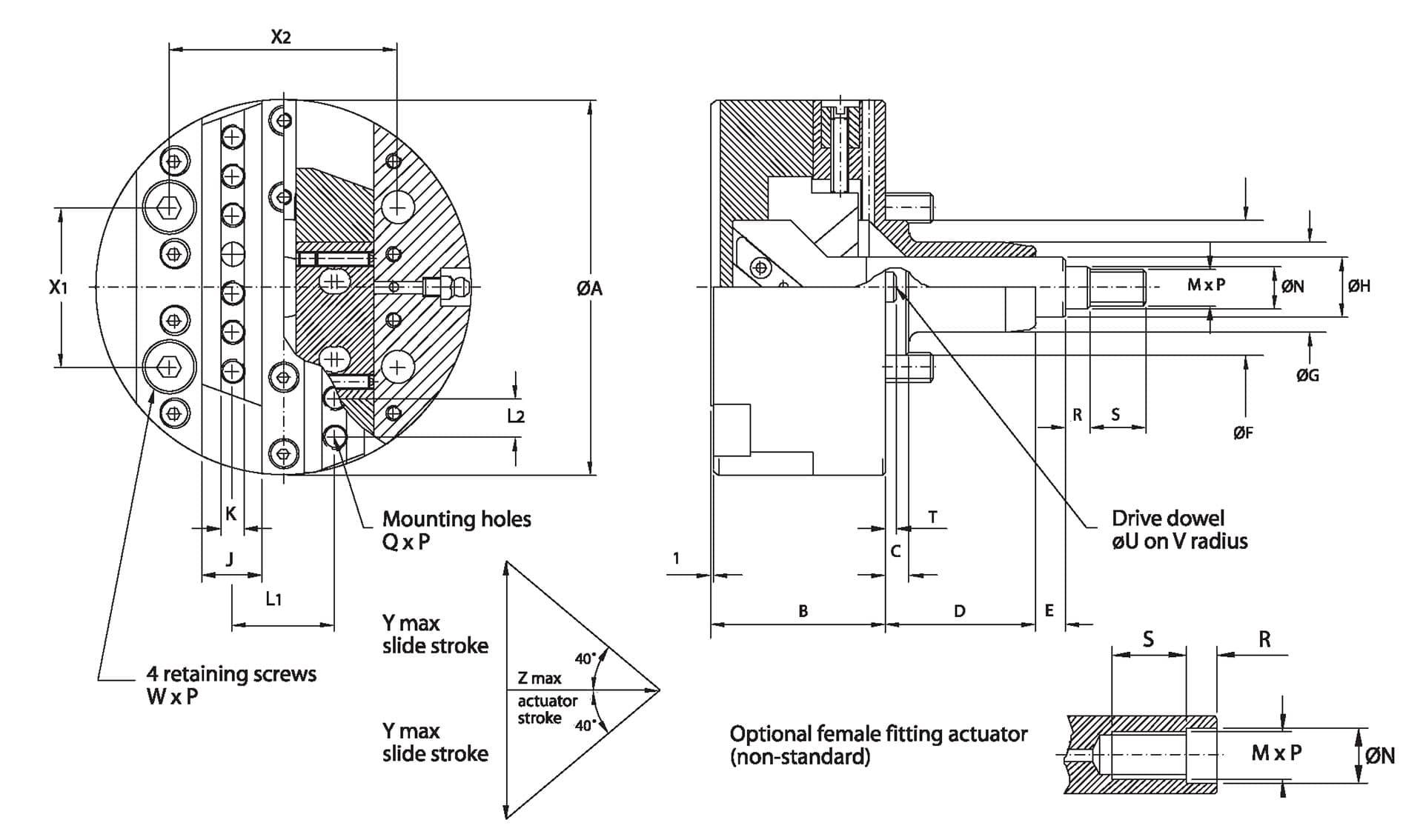 Generating Heads Double Slide Diagram