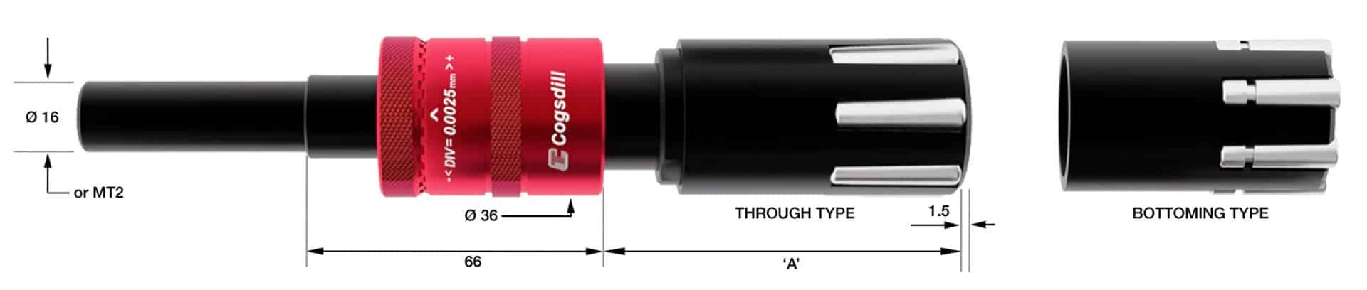 Rollen-Burnishing SRMR38-25-50 Diagramm