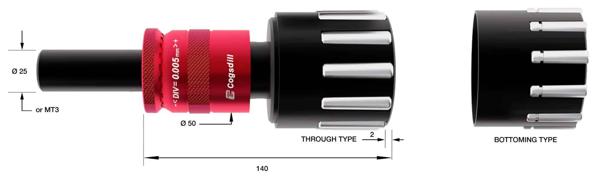 Rollen-Burnishing SRMR72-51-89 Diagramm