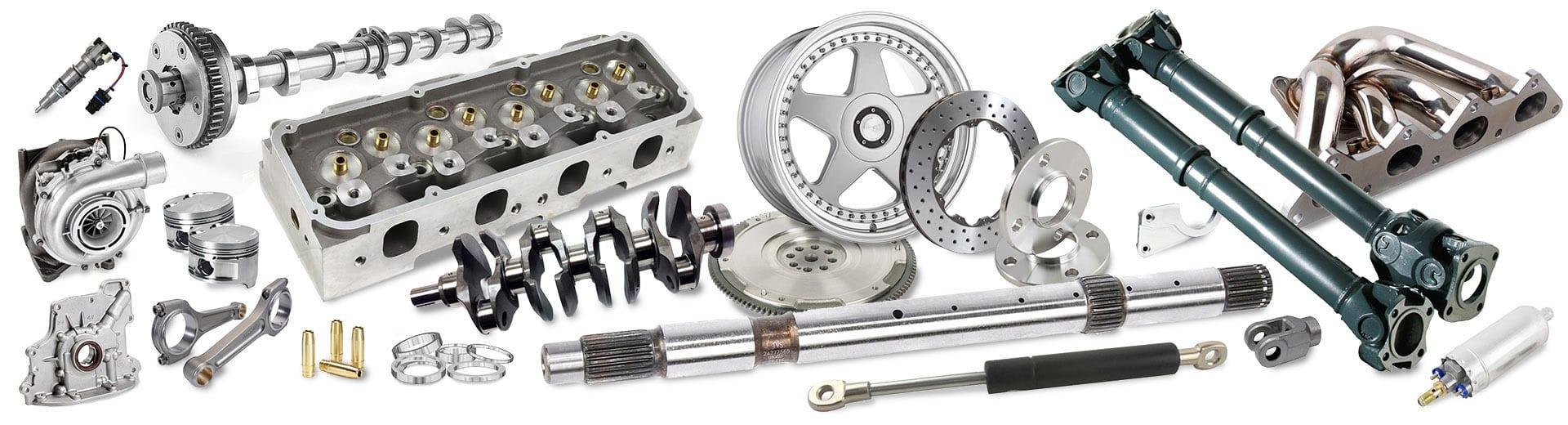 automotive components montage