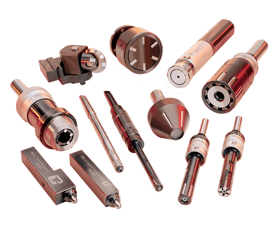Roller Burnishing Product Range by Cogsdill