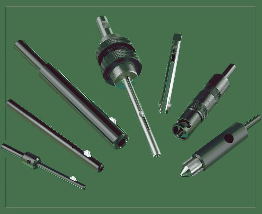 Gamma di prodotti per sbavatura meccanica dei fori di Cogsdill
