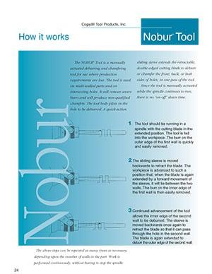 Cogsdill Deburring Nobur Tool
