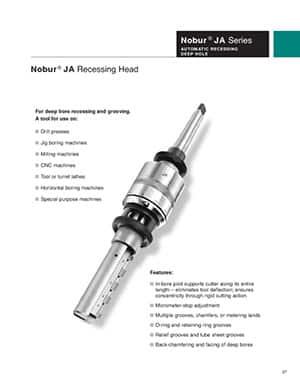 Cogsdill Nobur Recessing Tool Guide