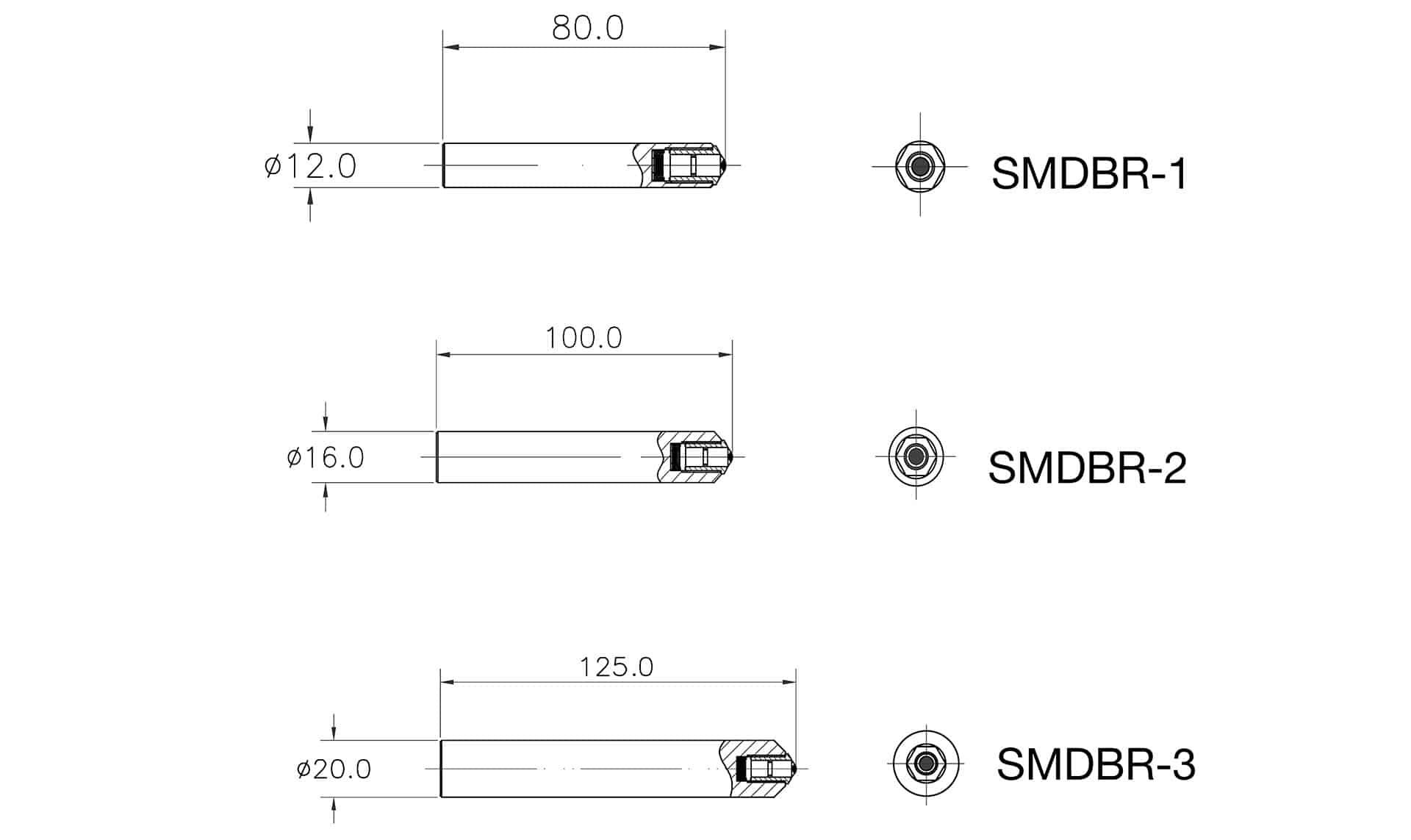 Diamond Burnishing Specs SMDBR 1-3