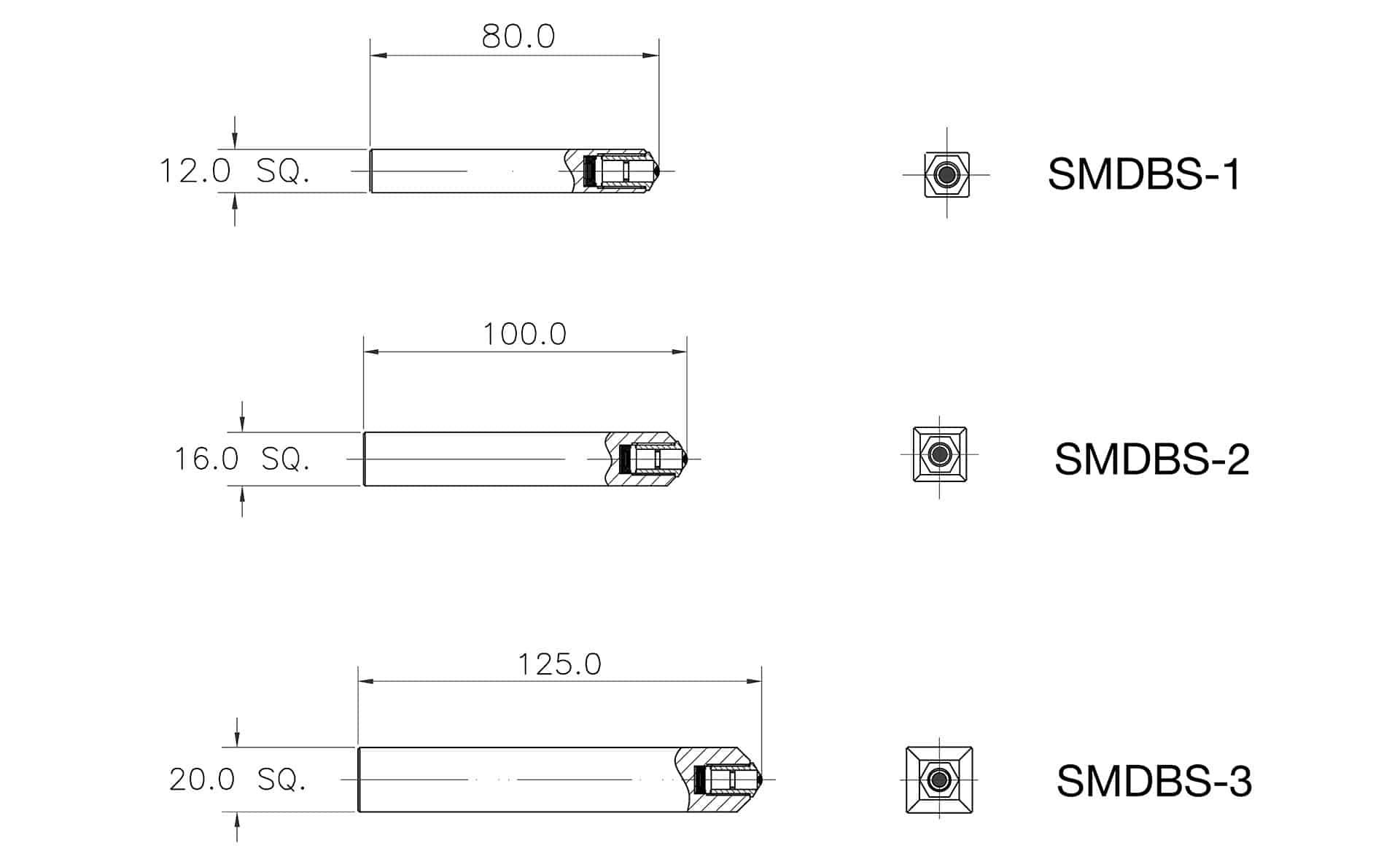 Diamond Burnishing Specs SMDBS 1-3