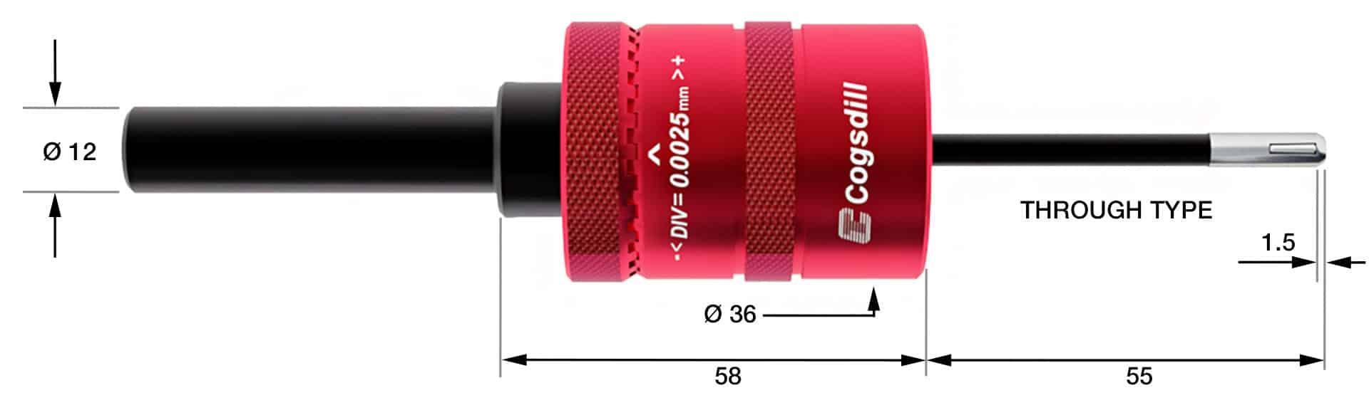 Esquema del bruñido de rodillos SRM-5-4-575