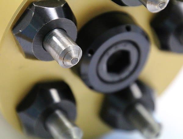 skive roller burnished tube