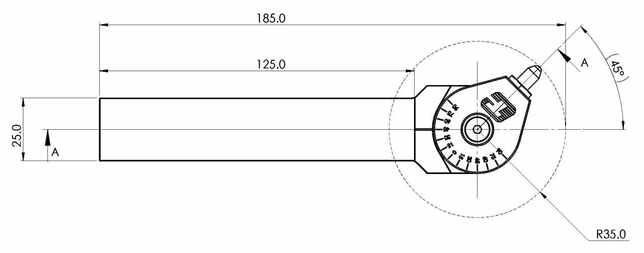 UDBT S-25 Drawing